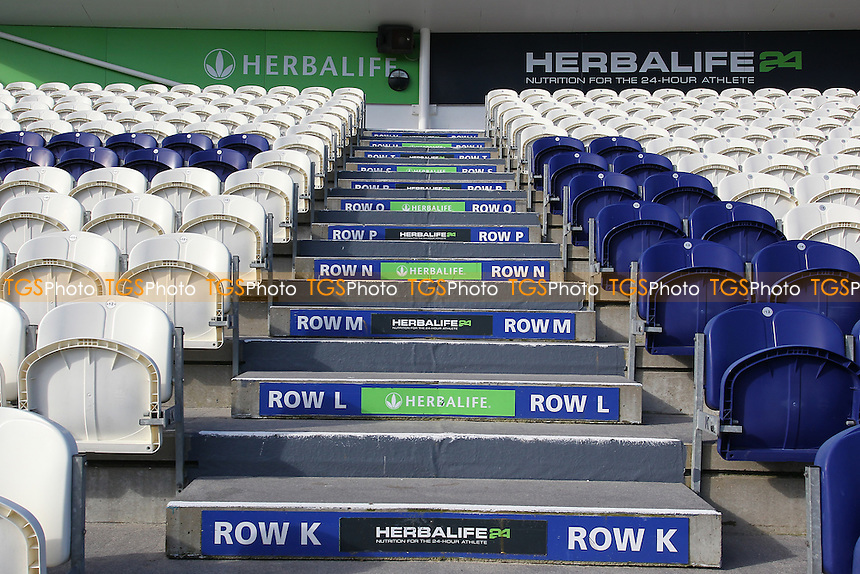 General view of empty seats ahead of Sussex CCC vs Essex CCC, Specsavers County Championship Division 2 Cricket at The 1st Central County Ground on 18th April 2016