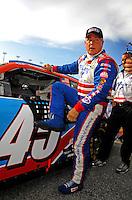 Jul. 4, 2008; Daytona Beach, FL, USA; NASCAR Sprint Cup Series driver Terry Labonte during qualifying for the Coke Zero 400 at Daytona International Speedway. Mandatory Credit: Mark J. Rebilas-