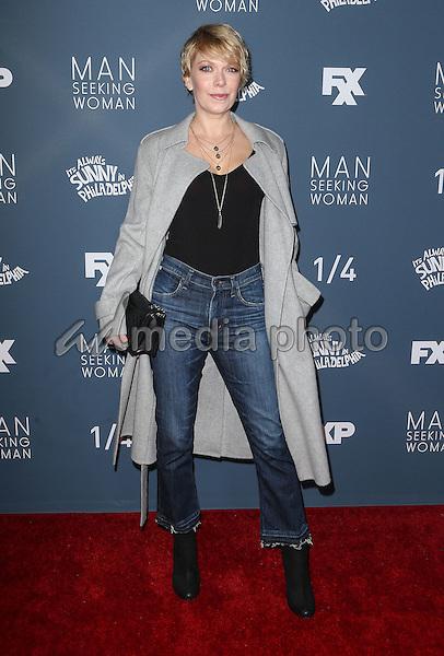 "03 January 2017 - Los Angeles, California - Mary Elizabeth Ellis. Premiere Of FXX'""It's Always Sunny In Philadelphia"" Season 12 And ""Man Seeking Woman"" Season 3 held at Fox Bruin Theatre. Photo Credit: F. Sadou/AdMedia"