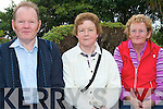 PATTERN: Matt, Bridie and Mary McNamara who travelled from Killaloe, Co Clare for Mass at our Lady's Well, Ballyheigue on Pattern Day. Bridie who is originally from Ballyheigue makes the journey every year.   Copyright Kerry's Eye 2008