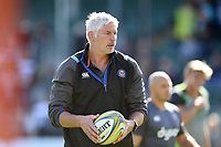 Bath Director of Rugby Todd Blackadder looks on during the pre-match warm-up. Aviva Premiership match, between Bath Rugby and Newcastle Falcons on September 23, 2017 at the Recreation Ground in Bath, England. Photo by: Patrick Khachfe / Onside Images