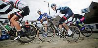 Ronde van Vlaanderen 2013..Gustav Larsson (SWE) up the Paterberg