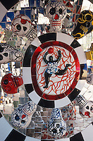 Italien, Toskana, bei Capalbio, Tarockgarten der Niki de Saint Phalle