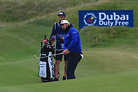 Matthieu Pavon (FRA) on the 6th during Round 2 of the Irish Open at LaHinch Golf Club, LaHinch, Co. Clare on Friday 5th July 2019.<br /> Picture:  Thos Caffrey / Golffile<br /> <br /> All photos usage must carry mandatory copyright credit (© Golffile | Thos Caffrey)