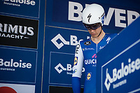 Niki Terpstra (NED/Quick Step Floors) pre race concetrated<br /> <br /> Baloise Belgium Tour 2017<br /> Stage 3: ITT Beveren - Beveren (13.4km)