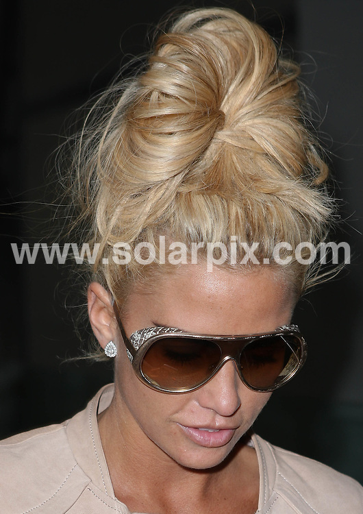 **ALL ROUND PICTURES FROM SOLARPIX.COM**                                             **WORLDWIDE SYNDICATION RIGHTS**                                                                                  Caption:   Katie Price aka jordan arrives at Gatwick airport from Manchester.                                                                            This pic: Katie Price                                                                                            JOB REF: 13351       WMB       DATE: 16.05.201                                                           **MUST CREDIT SOLARPIX.COM OR DOUBLE FEE WILL BE CHARGED**                                                                      **MUST AGREE FEE BEFORE ONLINE USAGE**                               **CALL US ON: +34 952 811 768 or LOW RATE FROM UK 0844 617 7637**