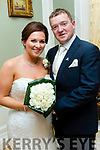 Sophie O'Connor, daughter of Jacklyn&Murray, London and Brian Goggin, son of Miriam Twomey, West Cork who married last Saturday August 26th in St Marys church, Listowel with Fr Martin Hegarty officiating. Bestman was Cian Goggin, groomsmen were Gavin, Christopher&Vincent Goggin. 1st bridesmaid was Clare McConigley, others were Sophie McCabe, Katelyn Higgins and Laura Keegan. Pageboys were Thomas&Edward Goggin. The reception was in the Listowel Arms and the couple will reside in London.