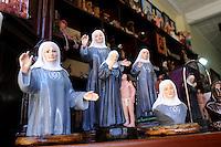 JERICO - COLOMBIA - 10-05-2013: María Laura de Jesús Montoya Upegui, mejor conocida como La Madre Laura, fue una misionara católica colombiana, fundadora de la Congregación de las Hermanas Misioneras de María Inmaculada y Santa Catalina de Siena, fue declarada beata de la Iglesia Católica en el año 2004,  En diciembre de 2012 se dio a conocer el veredicto por parte del grupo de evaluación del proceso de su canonización, la cual será el 12 de mayo de 2013. (Foto: VizzorImage / Cont.) Maria Laura de Jesus Montoya Upegui, better known as Mother Laura, it was a Colombian Catholic missionary, founder of the Congregation of the Missionary Sisters of Mary Immaculate and St. Catherine of Siena, was declared blessed by the Catholic Church in 2004, in December 2012 the verdict announced by the assessment group canonization process, which will be on May 12, 2013. (Photo: VizzorImage / Cont.).