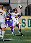 5 October 2019: University of Vermont Catamount Midfielder Alex Nagy, a Sophomore from Bow, NH, in action against the University at Albany Great Danes on Virtue Field in Burlington, Vermont. The Catamounts fell to the visiting Danes 3-1 in America East, Division 1 play. Mandatory Credit: Ed Wolfstein Photo *** RAW (NEF) Image File Available ***