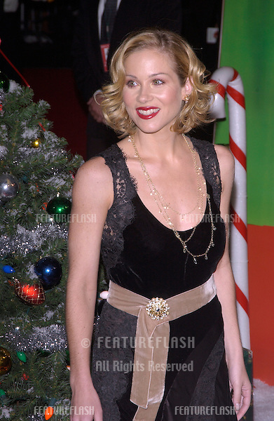 Actress CHRISTINA APPLEGATE at the Hollywood premiere of her new movie Surviving Christmas..October 14, 2004