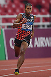 Julian Jrummi Walsh (JPN), <br /> AUGUST 25, 2018 - Athletics : Men's 400m Semi-final at Gelora Bung Karno Main Stadium during the 2018 Jakarta Palembang Asian Games in Jakarta, Indonesia. <br /> (Photo by MATSUO.K/AFLO SPORT)