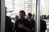SAO PAULO, SP, 17 DE AGOSTO DE 2012 - ELEICOES 2012 - O cadidato a prefeitura de Sao Paulo Paulinho da Força, apresenta seu programa de governo na sede do Sindicato dos Trabalhadores em Processamento de Dados, nesta manha de sexta-feira, 17, na zona central da cidade. FOTO RICARDO LOU - BRAZIL PHOTO PRESS