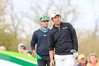 Byeong Hun An (KOR) on the 9th tee during the 3rd round of the Waste Management Phoenix Open, TPC Scottsdale, Scottsdale, Arisona, USA. 02/02/2019.<br /> Picture Fran Caffrey / Golffile.ie<br /> <br /> All photo usage must carry mandatory copyright credit (© Golffile | Fran Caffrey)