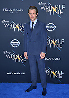 Chris Pine at the premiere for &quot;A Wrinkle in Time&quot; at the El Capitan Theatre, Los Angeles, USA 26 Feb. 2018<br /> Picture: Paul Smith/Featureflash/SilverHub 0208 004 5359 sales@silverhubmedia.com