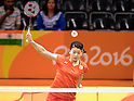 Ayaka Takahashi (JPN),<br /> AUGUST 11, 2016 - Badminton :<br /> Women's Doubles Group Play<br /> at Riocentro - Pavilion 4<br /> during the Rio 2016 Olympic Games in Rio de Janeiro, Brazil. <br /> (Photo by Koji Aoki/AFLO SPORT)