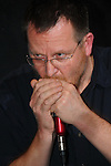 Kaohsiung, Taiwan -- Internationally acclaimed harmonica player BRENDAN POWER performing live at DC Stage.
