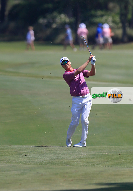John SENDEN (AUS) on the 9th during the final round of The Players, TPC Sawgrass, Ponte Vedra Beach, Florida, United States. 10/05/2015<br /> Picture Fran Caffrey, www.golffile.ie