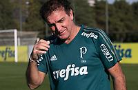 SAO PAULO, SP - 17.07.2017 - FUTEBOL-PALMEIRAS - Cuca treinador do Palmeiras durante treino na Academia de Futebol no bairro da Barra Funda, zona oeste de S&atilde;o Paulo nesta segunda-feira, 17.<br /> <br /> (Fabricio Bomjardim / Brazil Photo Press)