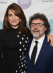 Tina Fey and Jeff Richmond attends the 34th Annual Artios Awards at Stage 48 on January 31, 2019 in New York City.