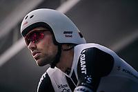 Tom Dumoulin (NED/Sunweb) on the start ramp<br /> <br /> UCI MEN&lsquo;S TEAM TIME TRIAL<br /> Ötztal to Innsbruck: 62.8 km<br /> <br /> UCI 2018 Road World Championships<br /> Innsbruck - Tirol / Austria