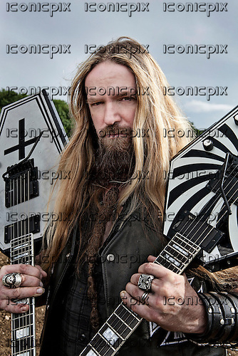 Black Label Society - Portraits of Zakk Wylde in Rutland, England UK - July 22, 2010.  Photo credit: Ashley Maile / IconicPix  *HIGHER RATES APPLY* *PREMIUM COLLECTION* **NO WEBSITES**