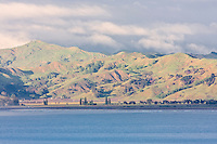 View across Poverty Bay, Gisborne, north island, New Zealand.