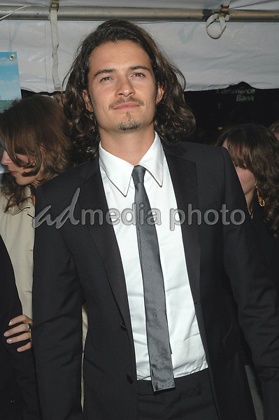 10 October 2005 - New York, New York -  Orlando Bloom arrives at the premiere of his new film, &quot;Elizabethtown&quot;, at the Loews Lincoln Square Theater in Manhattan.   <br />Photo Credit: Patti Ouderkirk/AdMedia