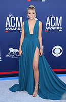 07 April 2019 - Las Vegas, NV - Danielle Bradbery. 2019 ACM Awards at MGM Grand Garden Arena, Arrivals.<br /> CAP/ADM/MJT<br /> &copy; MJT/ADM/Capital Pictures