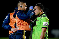 Siate Tokolahi of the Highlanders during the rugby match between the Highlanders and the French Barbarians at Rugby Park in Invercargill, New Zealand on Friday, 22 June 2018. Copyright Image: Joe Allison / lintottphoto.co.nz
