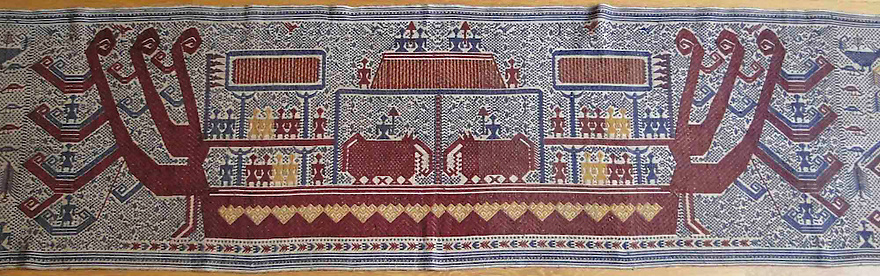 PALEPAI SHIP CLOTH FROM SUMATRA.