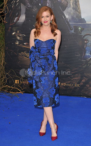 Isla Fisher at the &quot;Alice Through The Looking Glass&quot; European film premiere, Odeon Leicester Square cinema, Leicester Square, London, England, UK, on Tuesday 10 May 2016.<br /> CAP/CAN<br /> &copy;CAN/Capital Pictures /MediaPunch ***NORTH AMERICA AND SOUTH AMERICA ONLY***