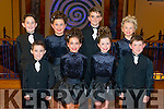 Sheehan Murphy Killarney Mixed Under 12 Team Front L-R Connor Clifford, Saoiese Clifford, Maeve O'Connor and Michael Healy, Back L-R Mark Clifford, Rocha Clifford, Kieran Johnston and Robyn O'Dohery at the All Ireland Irish Dancing in the INEC Killarney last Wednesday.