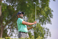 Saqer ALNOAIMI (BHR) watches his tee shot on 4 during Rd 1 of the Asia-Pacific Amateur Championship, Sentosa Golf Club, Singapore. 10/4/2018.<br /> Picture: Golffile | Ken Murray<br /> <br /> <br /> All photo usage must carry mandatory copyright credit (&copy; Golffile | Ken Murray)