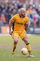 David Pipe of Newport County during the Sky Bet League 2 match between Newport County and Notts County at Rodney Parade, Newport, Wales on 6 May 2017. Photo by Mark  Hawkins / PRiME Media Images.