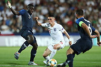 Phil Foden of England scores a goal<br /> Cesena 18-06-2019 Stadio Dino Manuzzi <br /> Football UEFA Under 21 Championship Italy 2019<br /> Group Stage - Final Tournament Group C<br /> England - France<br /> Photo Cesare Purini / Insidefoto