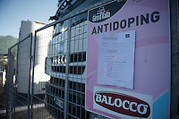 stage 17 doping control list unveiled minutes before the end of the stage behind the finish line<br /> <br /> stage 17: Tirano - Lugano (SUI) (134km)<br /> 2015 Giro d'Italia