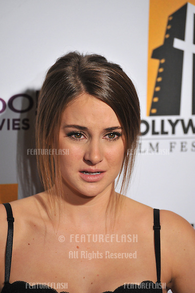 Shailene Woodley at the 15th Annual Hollywood Film Awards Gala at the Beverly Hilton Hotel..October 24, 2011  Beverly Hills, CA.Picture: Paul Smith / Featureflash