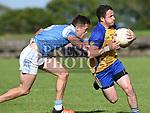 Newtown Blues Andrew McDonnell Kilkerley Emmets Sean Hand. Photo:Colin Bell/pressphotos.ie