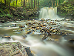 Dry Run Falls, Loyalsock State Forest, PA. Spring