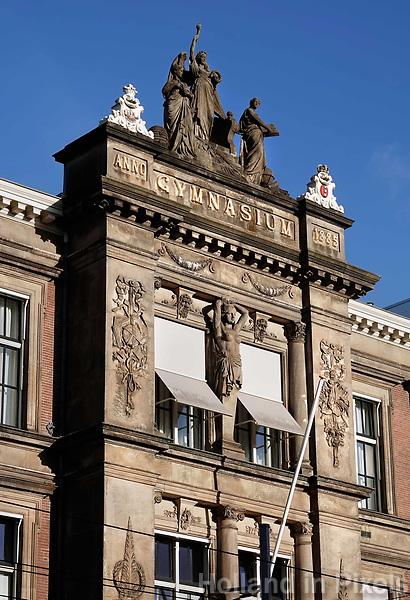 Nederland Amsterdam - December 2018 . Het Barlaeus Gymnasium. Foto Berlinda van Dam / Hollande Hoogte