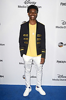 LOS ANGELES - MAY 21:  Aubrey Joseph at the 2017 ABC/Disney Media Distribution International Upfront at the Walt Disney Studios on May 21, 2017 in Burbank, CA
