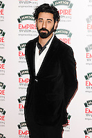 Ray Panthaki<br /> arives for the Empire Magazine Film Awards 2014 at the Grosvenor House Hotel, London. 30/03/2014 Picture by: Steve Vas / Featureflash