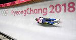 Andriy Mandziy (UKR). Mens luge. Pyeongchang2018 winter Olympics. Alpensia sliding centre. Alpensia. Gangneung. Republic of Korea. 11/02/2018. ~ MANDATORY CREDIT Garry Bowden/SIPPA - NO UNAUTHORISED USE - +44 7837 394578