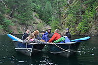 Ross Lakers Afloat, Ross Lake National Recreation Area, North Cascades National Park, US
