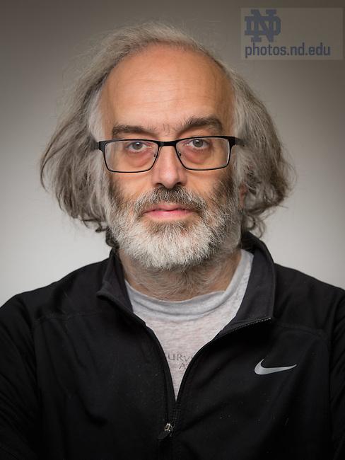 May 16, 2016; Samuel R. Evens (Photo by Matt Cashore/University of Notre Dame)