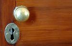 Door knob and lock at University of Virginia UVA Charlottesville Commonwealth of Virginia, Fine Art Photography by Ron Bennett, Fine Art, Fine Art photography, Art Photography, Copyright RonBennettPhotography.com ©