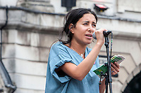 People's Post Rally; Birmingham; 4th June 2016. Mona Kamal - Junior Doctor