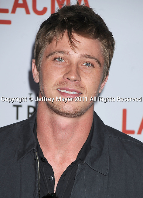 "LOS ANGELES, CA - MAY 24: Garrett Hedlund attends ""The Tree Of Life"" Los Angeles Premiere at the Bing Theatre in the Los Angeles County Museum of Art on May 24, 2011 in Los Angeles, California."