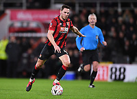 27th January 2020; Vitality Stadium, Bournemouth, Dorset, England; English FA Cup Football, Bournemouth Athletic versus Arsenal; A shot from Dan Gosling of Bournemouth goes over the crossbar