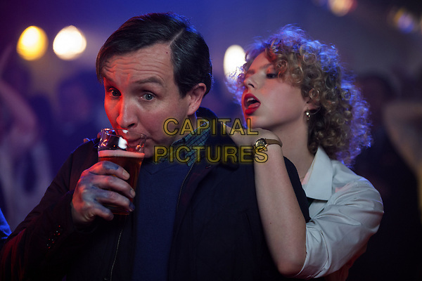 The World's End (2013) <br /> Eddie Marsan &amp; Samantha White<br /> *Filmstill - Editorial Use Only*<br /> CAP/KFS<br /> Image supplied by Capital Pictures